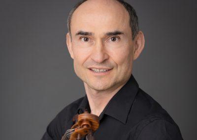 Stephan Picard; Violin © Peter Adamik
